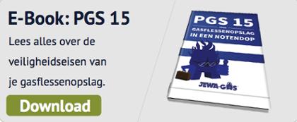 Voldoe aan de laatste eisen voor gasopslag in uw sector: PGS-15 voor gasflessenopslag in een notendop. Download het gratis eBook.