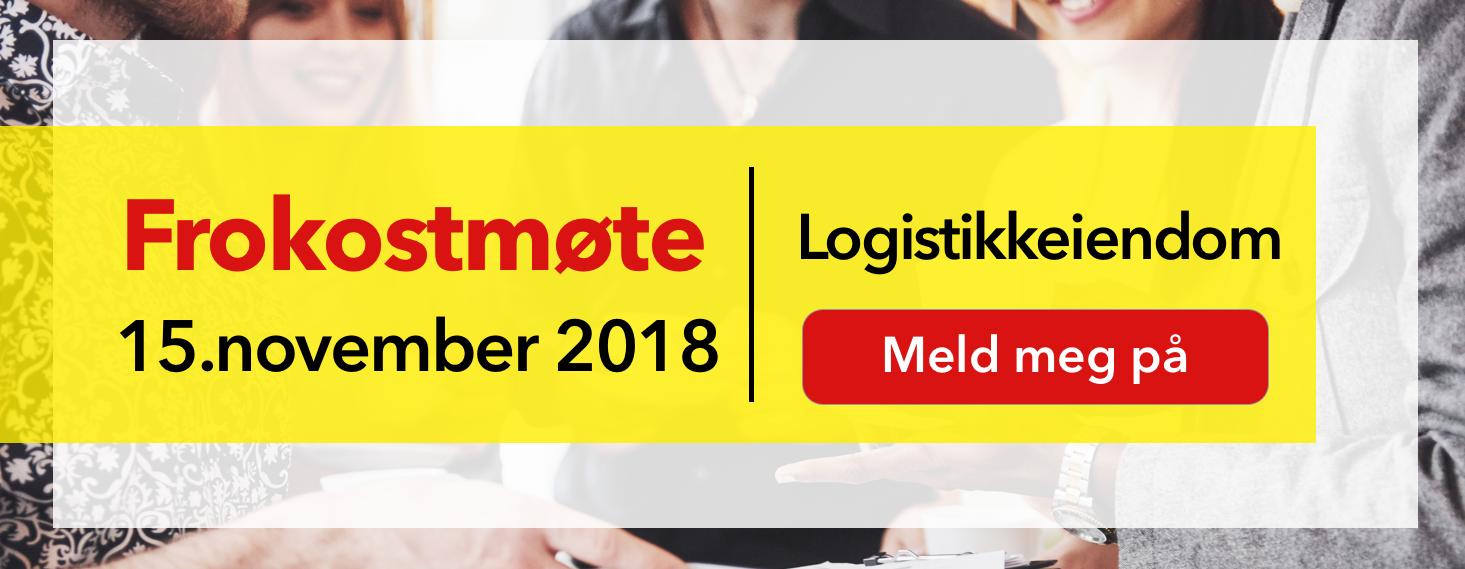 CTA - Frokostmøte Logistikkeiendom 15 november 2018