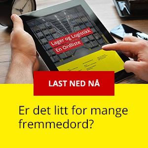 Last ned ordlisten for lager og logistikk her