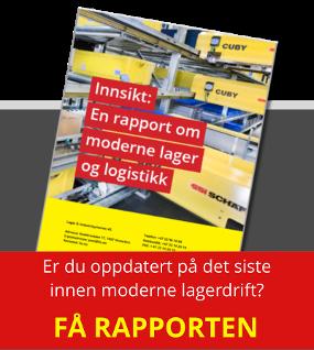 Innsikt: En rapport om moderne lager og logistikk