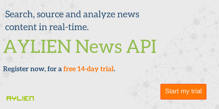 News API - Sign up