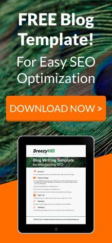 Download a free blog template for easy SEO optimization!
