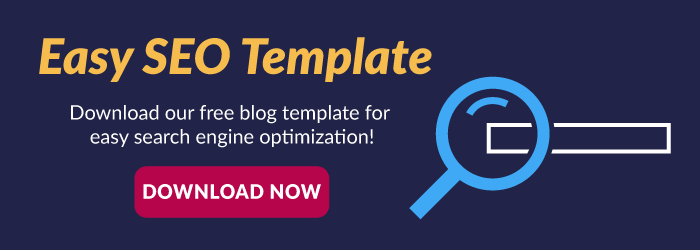 Download a free blog template