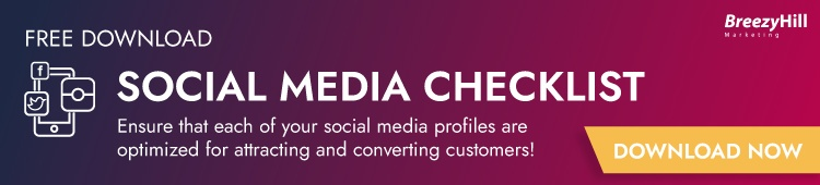 FREE Social Media Checklist!