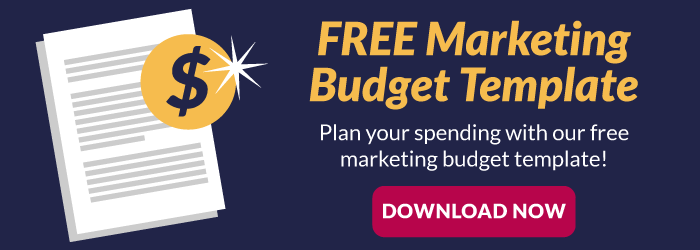 Plan your marketing spending with our free marketing budget template. Download now.