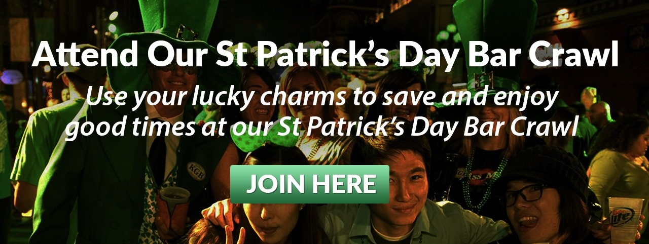 2020 Denver St Patrick's Day Bar Crawl  EB Link