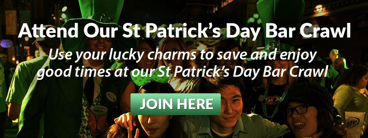 2020 Denver St Patrick's Day Bar Crawl  EB Link