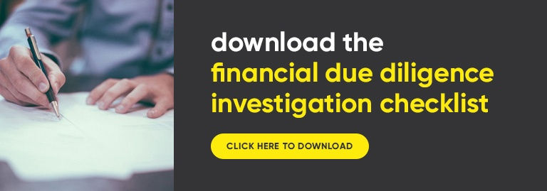 download financial due diligence checklist