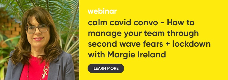 WEBINAR: Calm COVID Convos with Margie Ireland