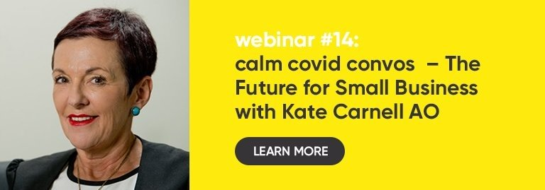 WEBINAR: The Future for Small Business