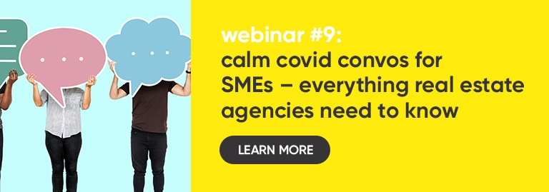 Calm Covid Convos Webinar #9 - Everything for Real Estate Agencies