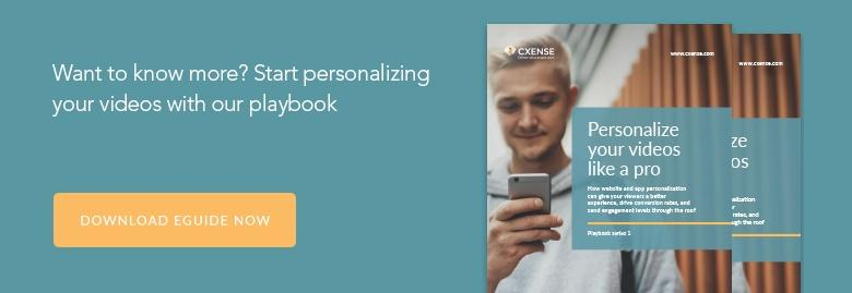 Download eGuide: Personalize your videos like a pro
