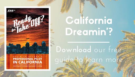 Become a pilot in California