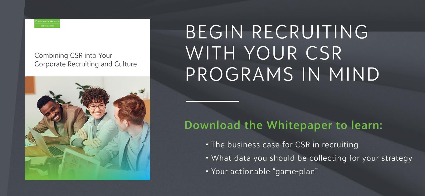 CSR in HR