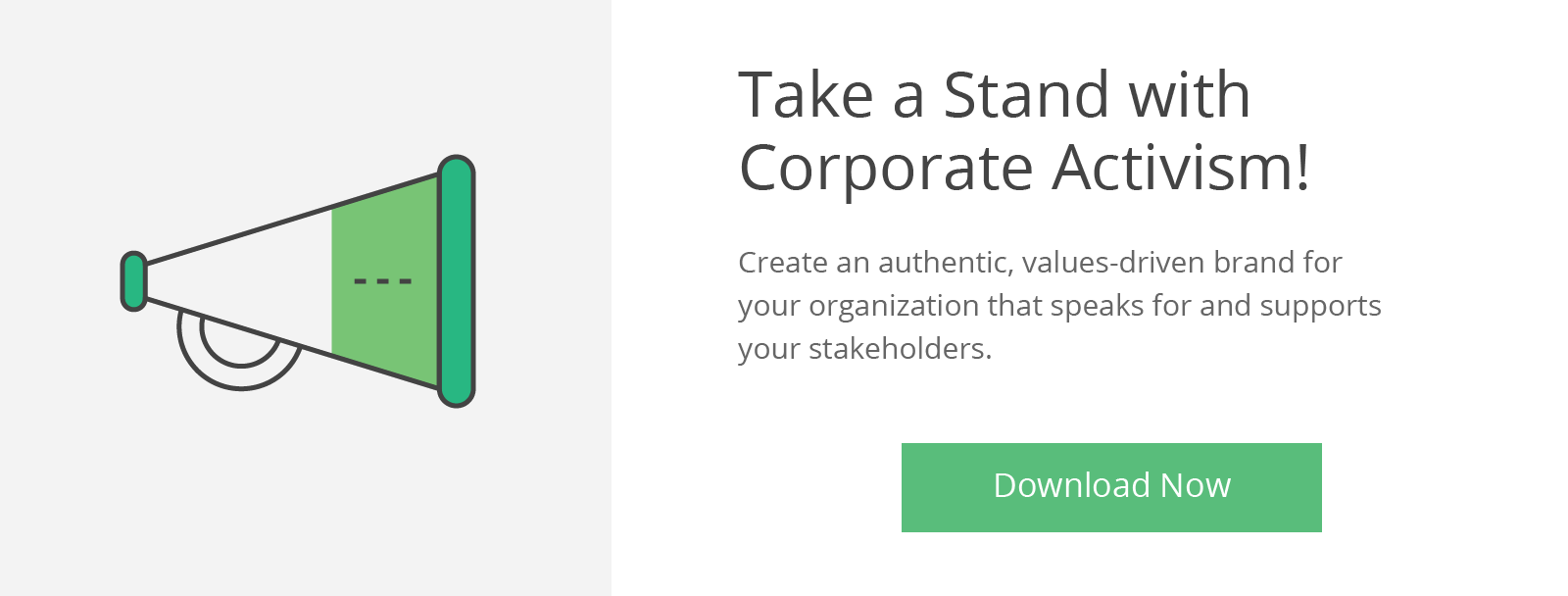 Corporate Activism, Call to Action