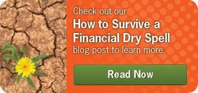 How to survive a financial dry spell