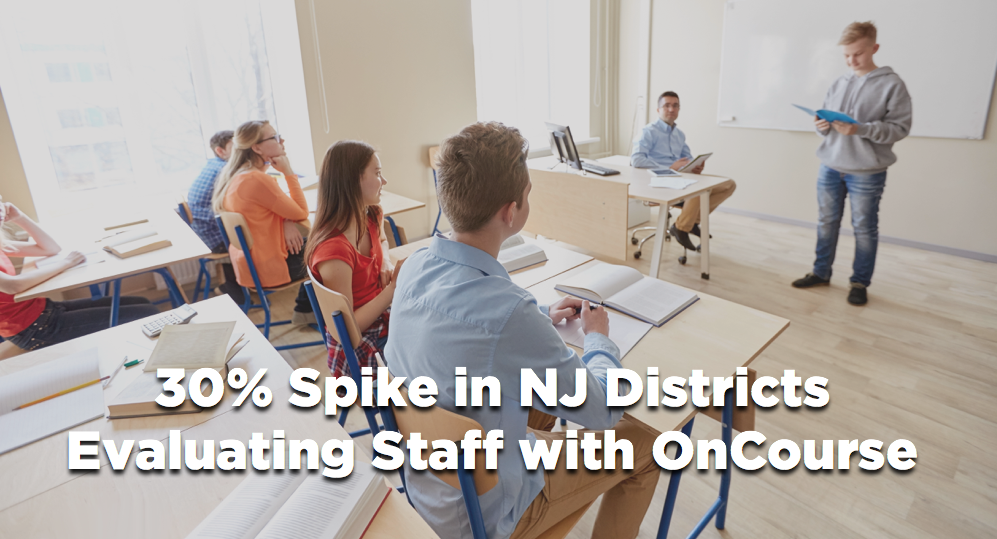 OnCourse Evaluate EdTech NJ Staff Performance
