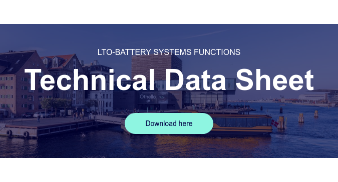 LTO-battery systems functions  Technical Data Sheet Download here