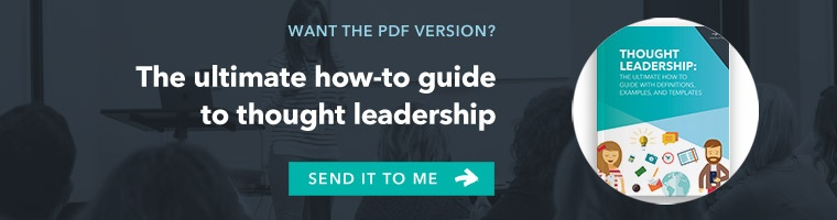 Ultimate Guide to Thought Leadership