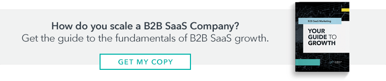 Click to request the B2B SaaS Marketing Guide to Growth