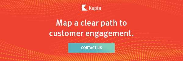 Map a clear path to customer engagement CTA banner with contact us button
