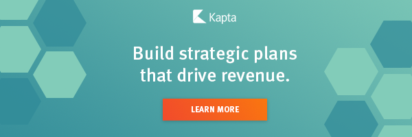build strategic plans that drive revenue banner with learn more button