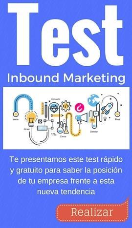 Test Inbound Marketing para empresas TIC