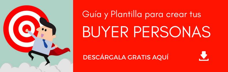 Guía y Plantilla para crear tus Buyer Personas