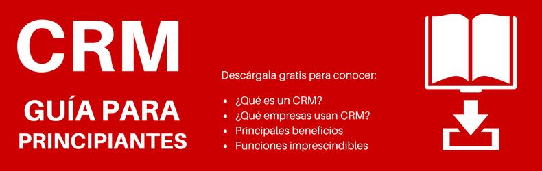 Descarga la guía CRM para principiantes gratis