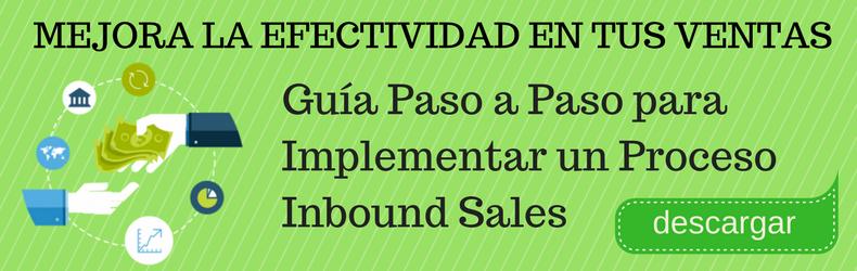 Proceso Inbound Sales