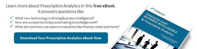 Gartner Content Automation -  eBook Prescriptive Analytics