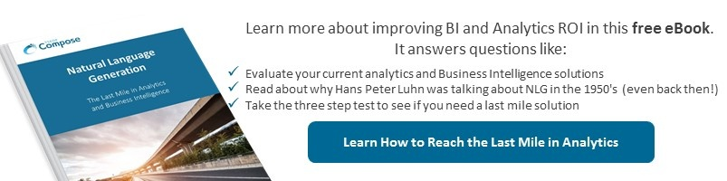 Download our eBook to Learn about the Last Mile in Analytics and BI