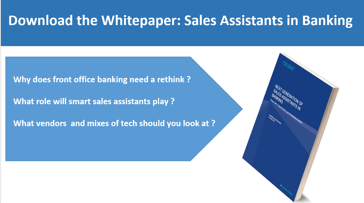 Sales Assistant Software in Banking