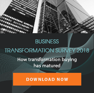 business transformation survey 2018