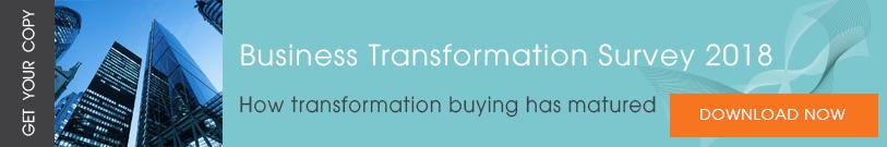 business transformation survey 2018
