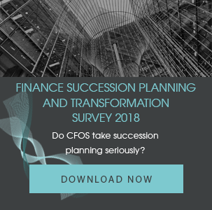 Finance Succession Planning and Transformation Survey 2018