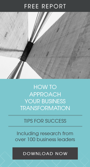 How to approach your business transformation ebook CTA