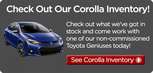 Corolla Inventory