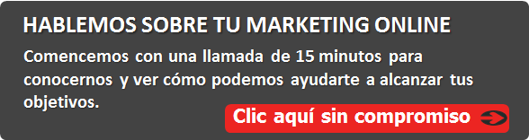 Hablemos sobre tu marketing online