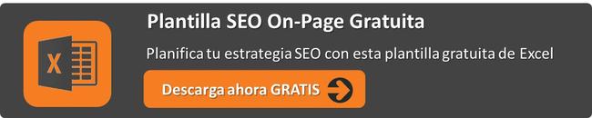 Plantilla SEO On-Page gratis