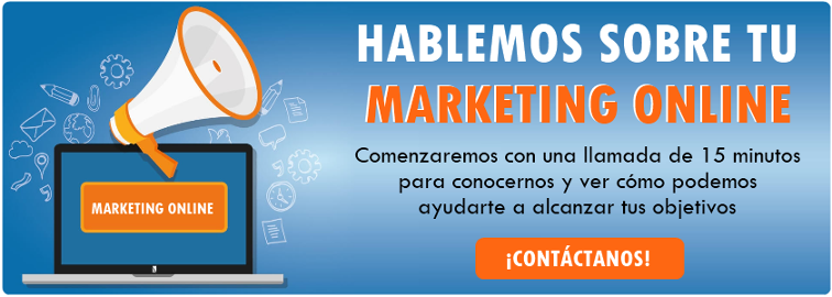 Hablemos de tu marketing online