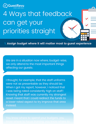 Download: 4 Ways that feedback can get your priorities straight [infographic]