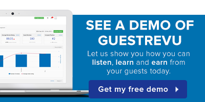 See a demo of GuestRevu