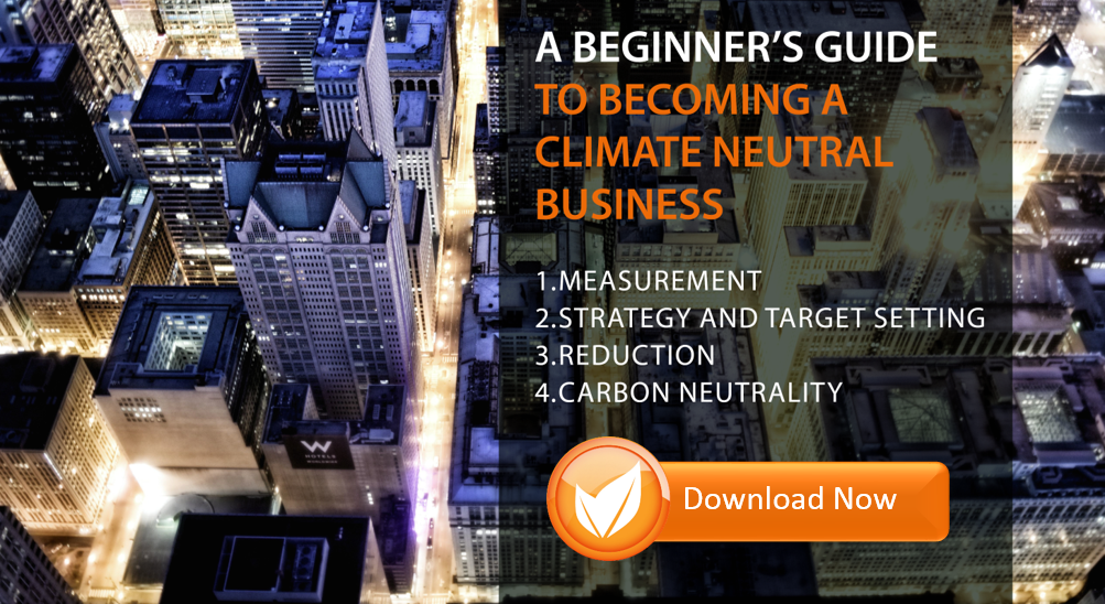 Download a beginner's guide to becoming a climate neutral business