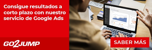 Publicidad online eficaz con el servicio GO2JUMP de Google Ads