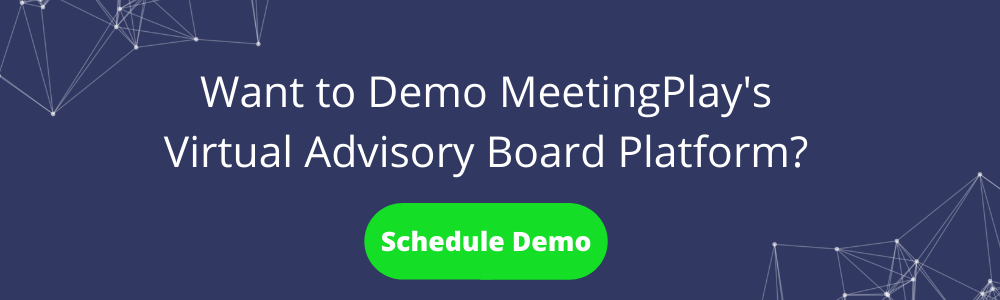 Demo MeetingPlay's Virtual Advisory Board Platform