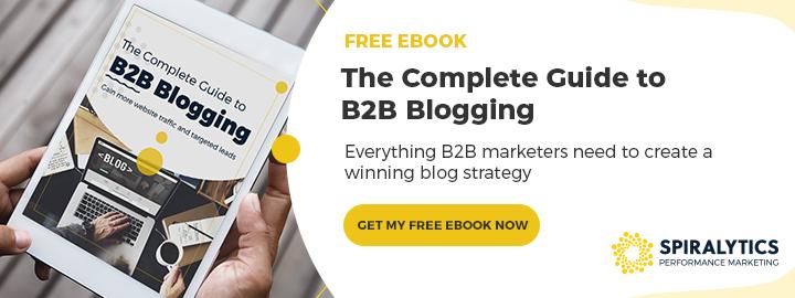 B2B Blogging Banner