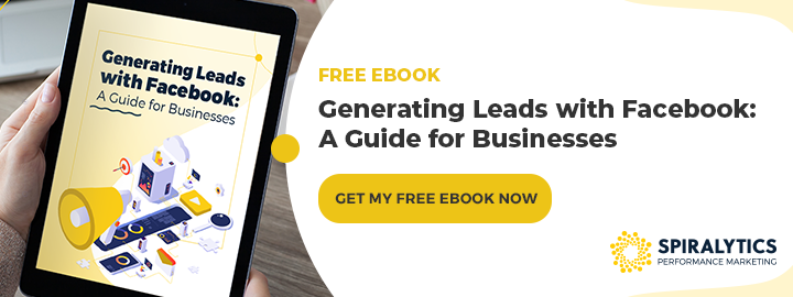 CTA Generating Leads with Facebook A Guide for Businesses