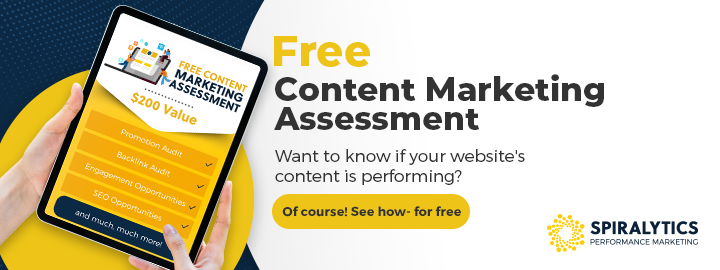 FREE Content Marketing Assessment