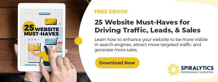 Download the Ebook: 25 Website Must Haves